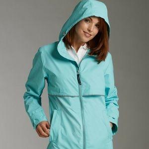 *NEW* w/Tags 2XL Waterproof hooded Rain Jacket